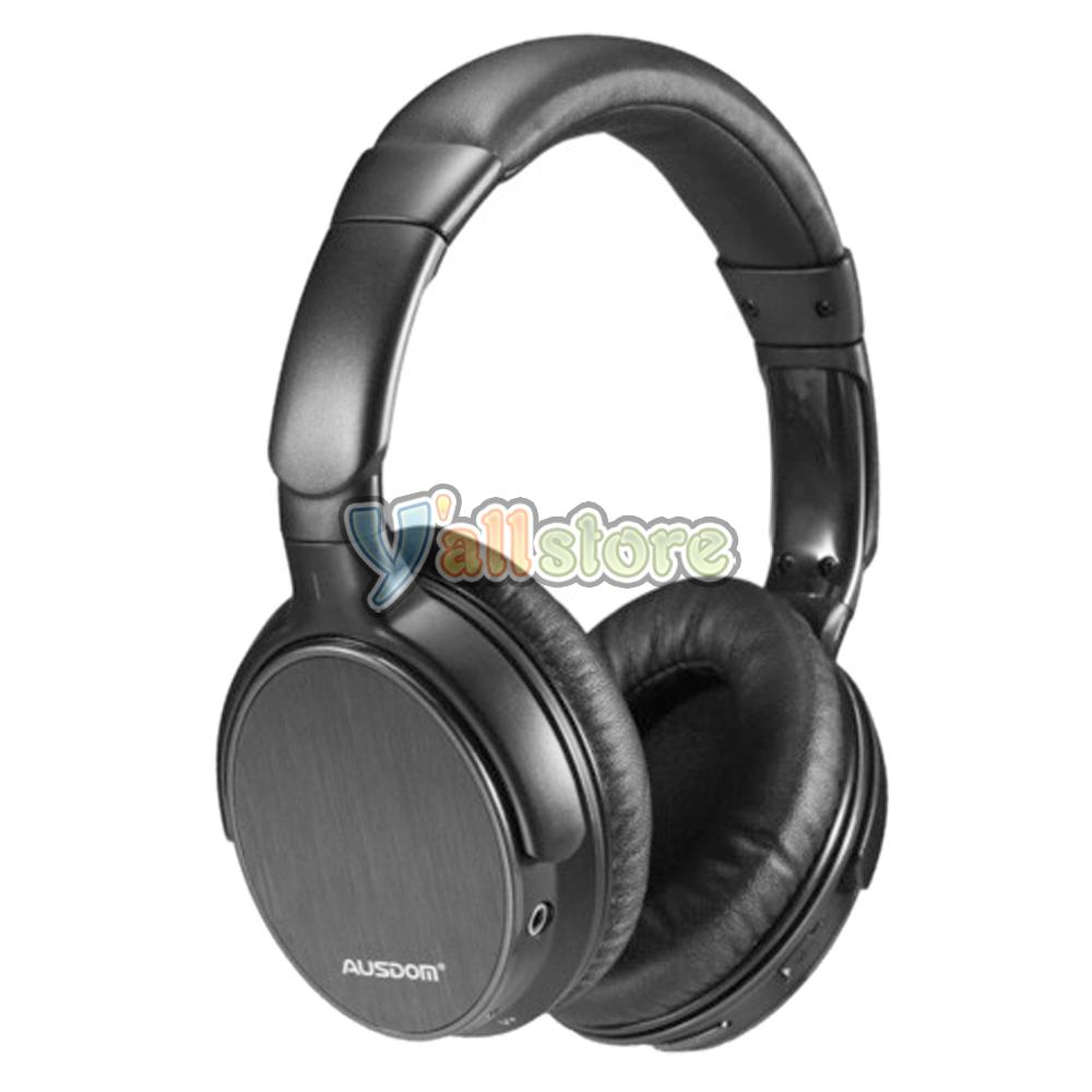 ausdom m06 bluetooth wireless stereo headset headphone for iphone samsung tablet ebay. Black Bedroom Furniture Sets. Home Design Ideas