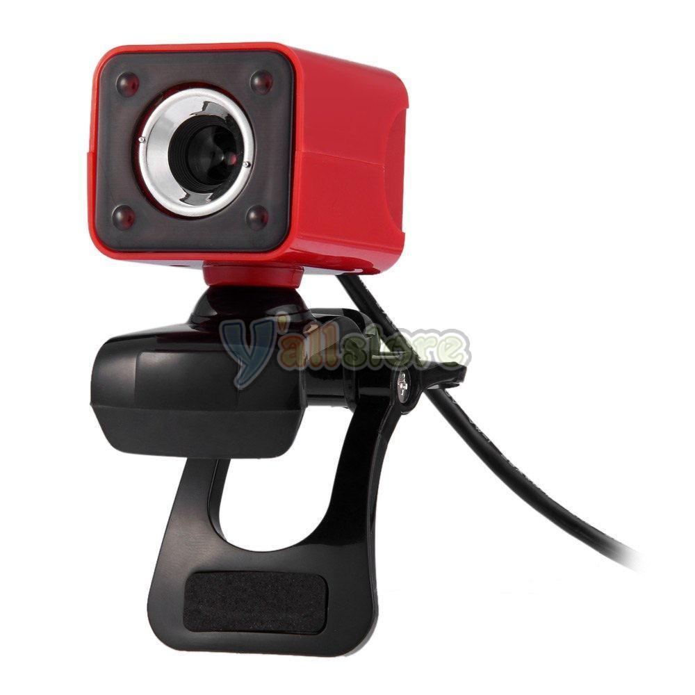 USB 2.0 12MP HD Webcam Web Camera 360 Degree Rotation with ...
