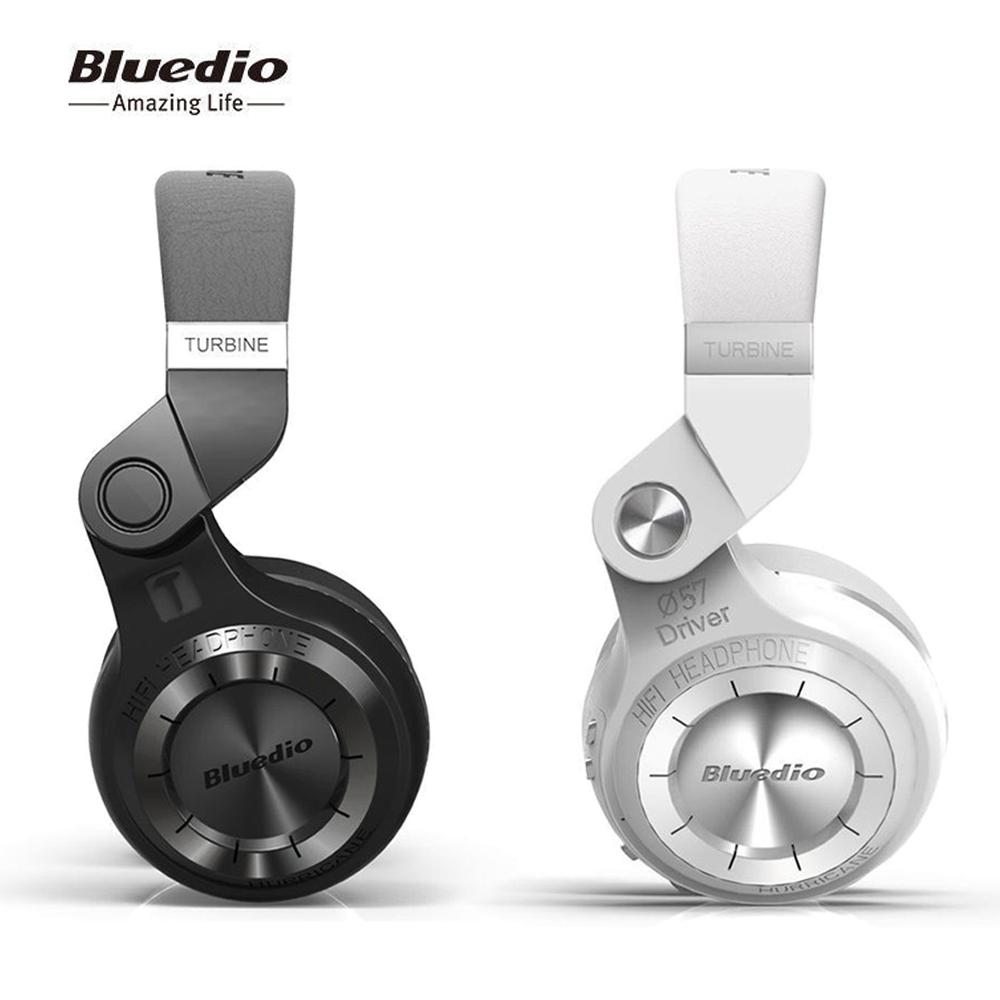 Bluedio T2 Bluetooth 4.1 Wireless Stereo Headset Foldable Hi-Fi Headphone Mic US