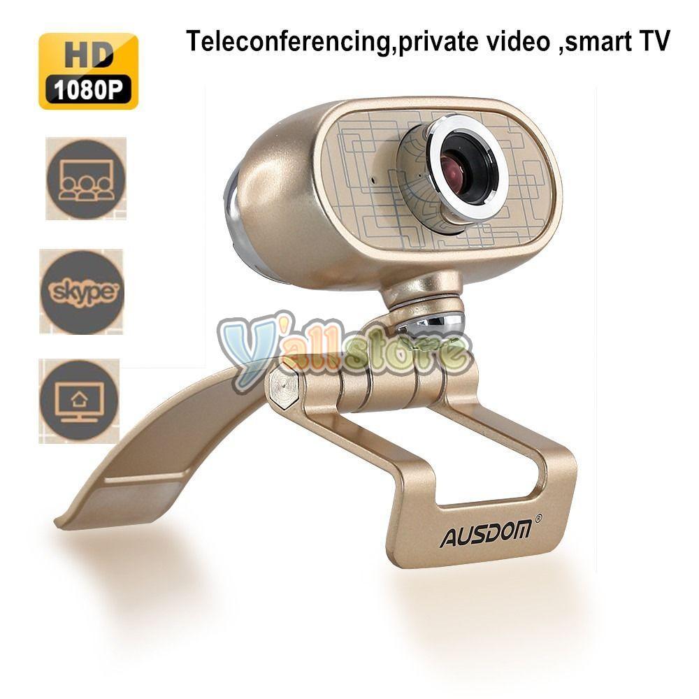 Ausdom 1080p hd usb 2 0 webcam web camera with mic for for Web tv camera deputati
