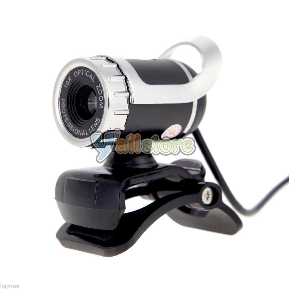 Usb 2 0 pro optical zoom webcam computer pc laptop web camera 360 clip on mic 6843356204098 ebay - Splugen web camera ...