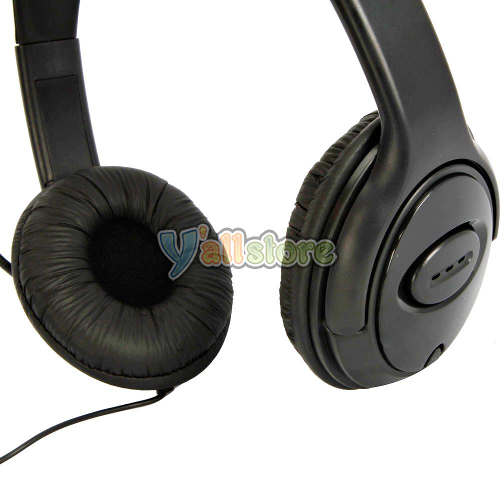 New Big Headset Headphone with Microphone MIC for Xbox 360 ...