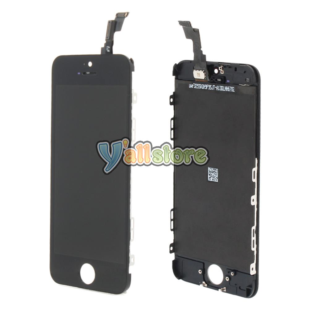 my iphone 5c screen went black new assembly for iphone 5c a1532 a1456 touch screen 19400
