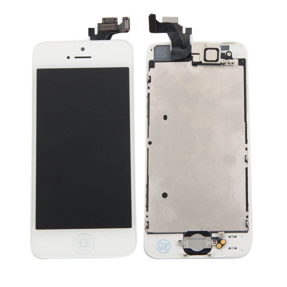 iphone 5c parts button w lcd touch digitizer screen assembly a1428 7824