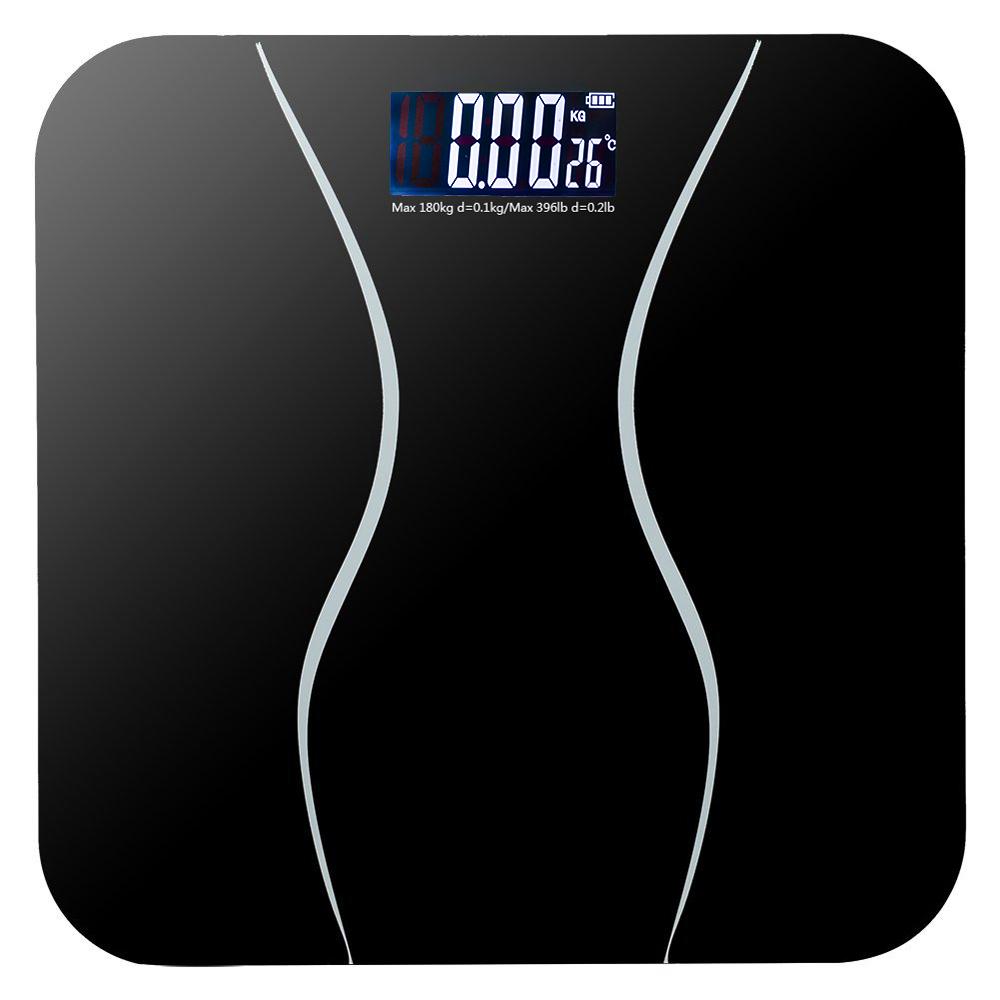 Digital bathroom scale digital body scale body weight scale digital - New 396lb 180kg Electronic Lcd Digital Bathroom Body Weight Scale With Battery
