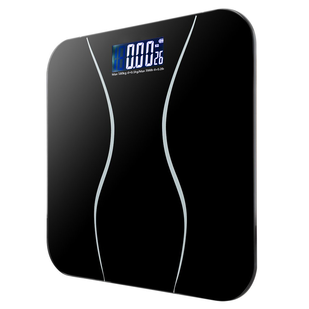 Electronic Bathroom Weighing Scales: New 396LB 180KG Electronic LCD Digital Bathroom Body