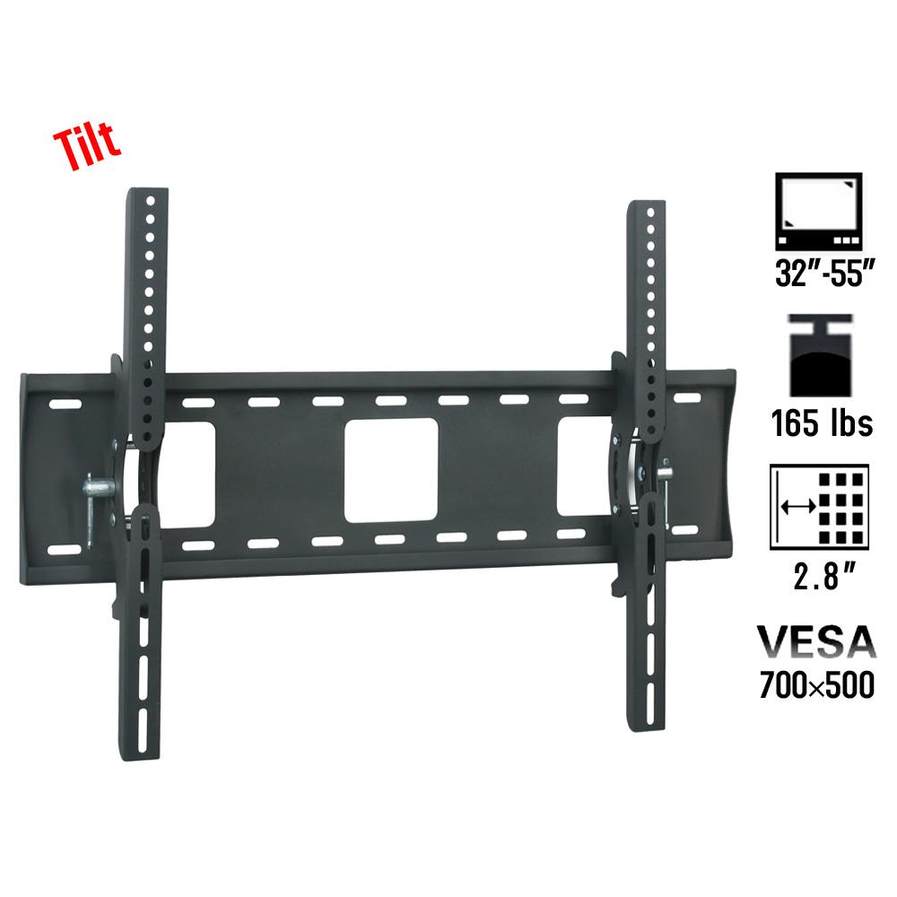 tv wall mount vesa 700 500 bracket 32 46 50 55 inch led lcd flat screen ebay. Black Bedroom Furniture Sets. Home Design Ideas