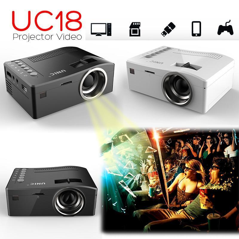 Uc18 micro led projector digital video multimedia player for Micro video projector