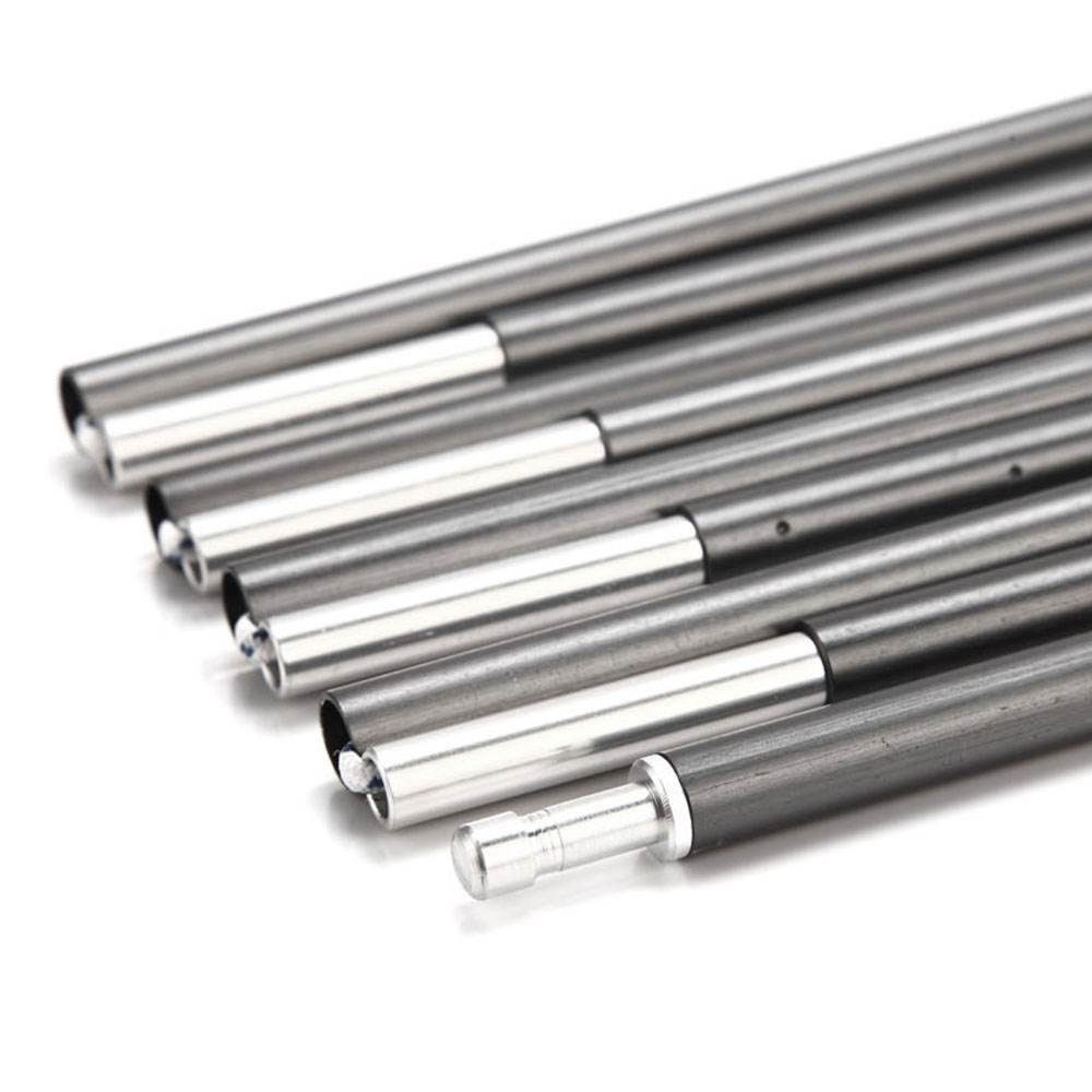 C&ing Tent Pole 18 Sections Aluminum Alloy 8.5mm 41.6cm Spare Replacement Gray  sc 1 st  eBay & Camping Tent Pole 18 Sections Aluminum Alloy 8.5mm 41.6cm Spare ...
