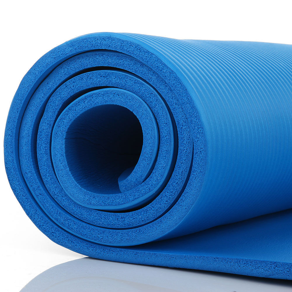 Extra Thick Non Slip Yoga Mat Pad Exercise Fitness Pilates