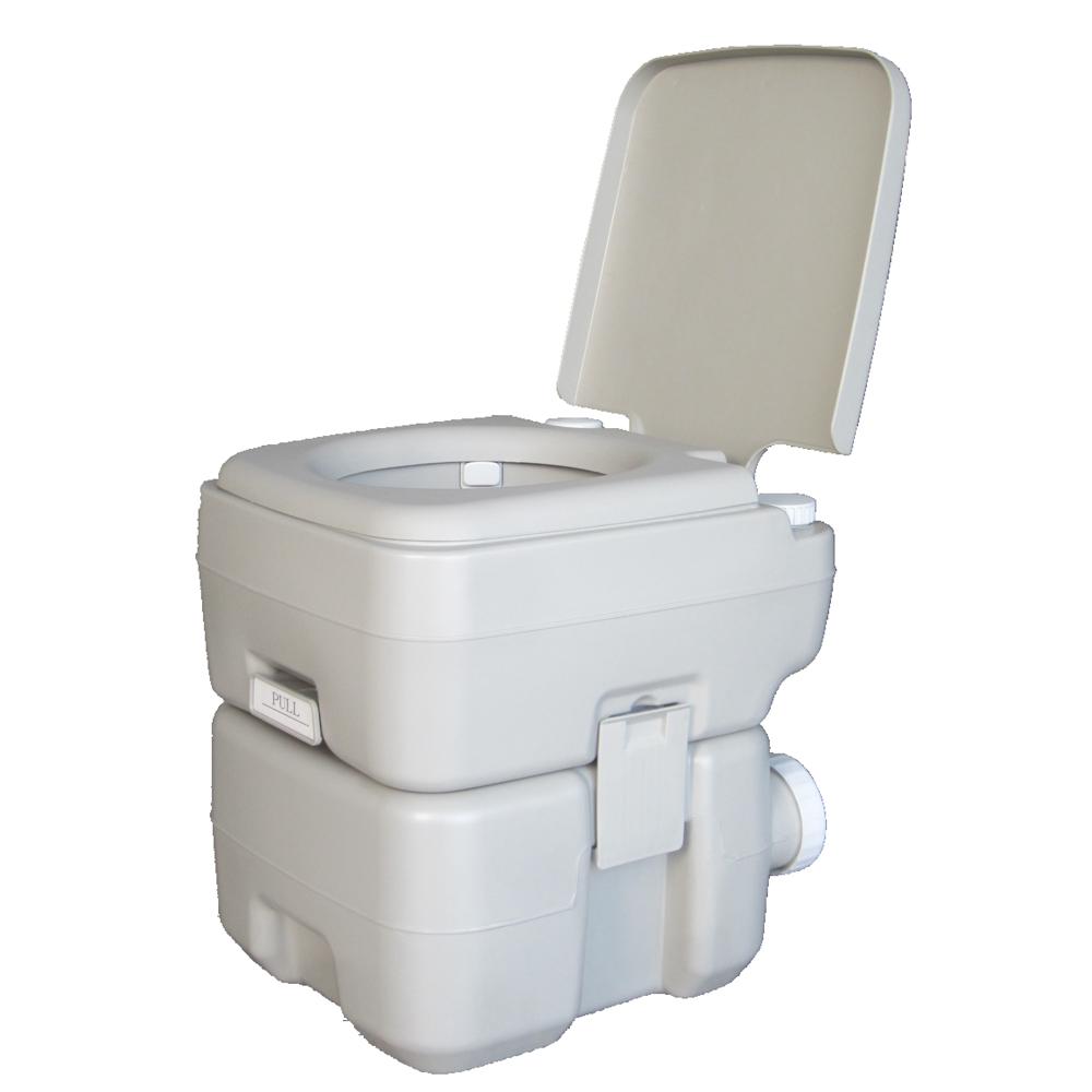 20L 5 Gallon Portable Toilet Outdoor Camping Hiking Garden Flush ...