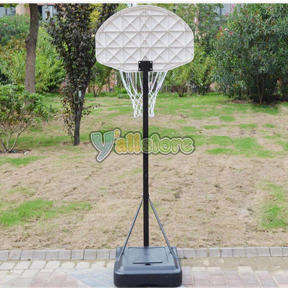 Adjustable Basketball Hoop System Stand Kid Indoor Outdoor