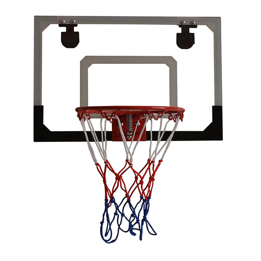 0dc53605560 Mini Hoop Backboard Net Set with Basketball Indoor Outdoor Game Toy Kids  Gift