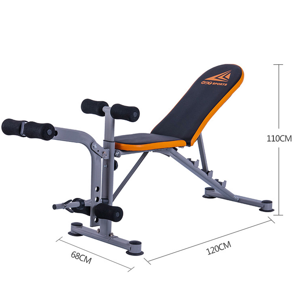 Universal folding adjustable sit up incline bench flat fly