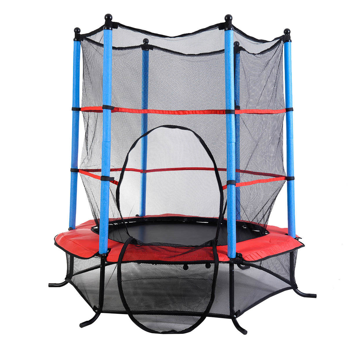 """55"""" Trampoline Youth Round Jumping Exercise Safety Pad"""