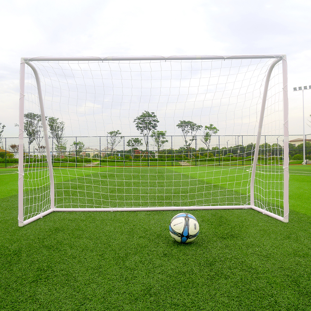 8' x 5' Soccer Goal With Net Strong Straps Anchor Large ...