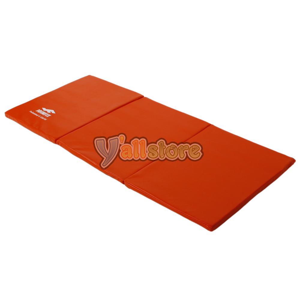 New Folding Panel Gymnastics Mat Gym Exercise Yoga Tri Mat