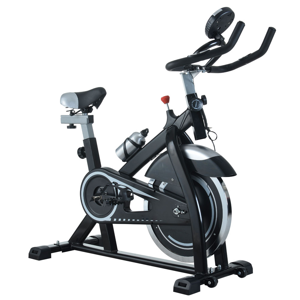 Home Exercise Equipment Bikes: Exercise Bike Home Cycling Workout Trainer Cardio Fitness