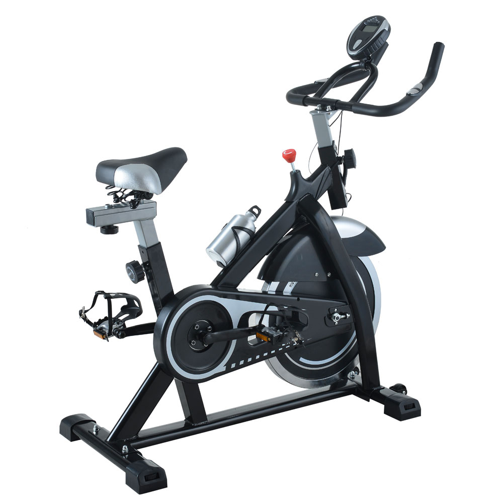 exercise bike home cycling workout trainer cardio fitness. Black Bedroom Furniture Sets. Home Design Ideas