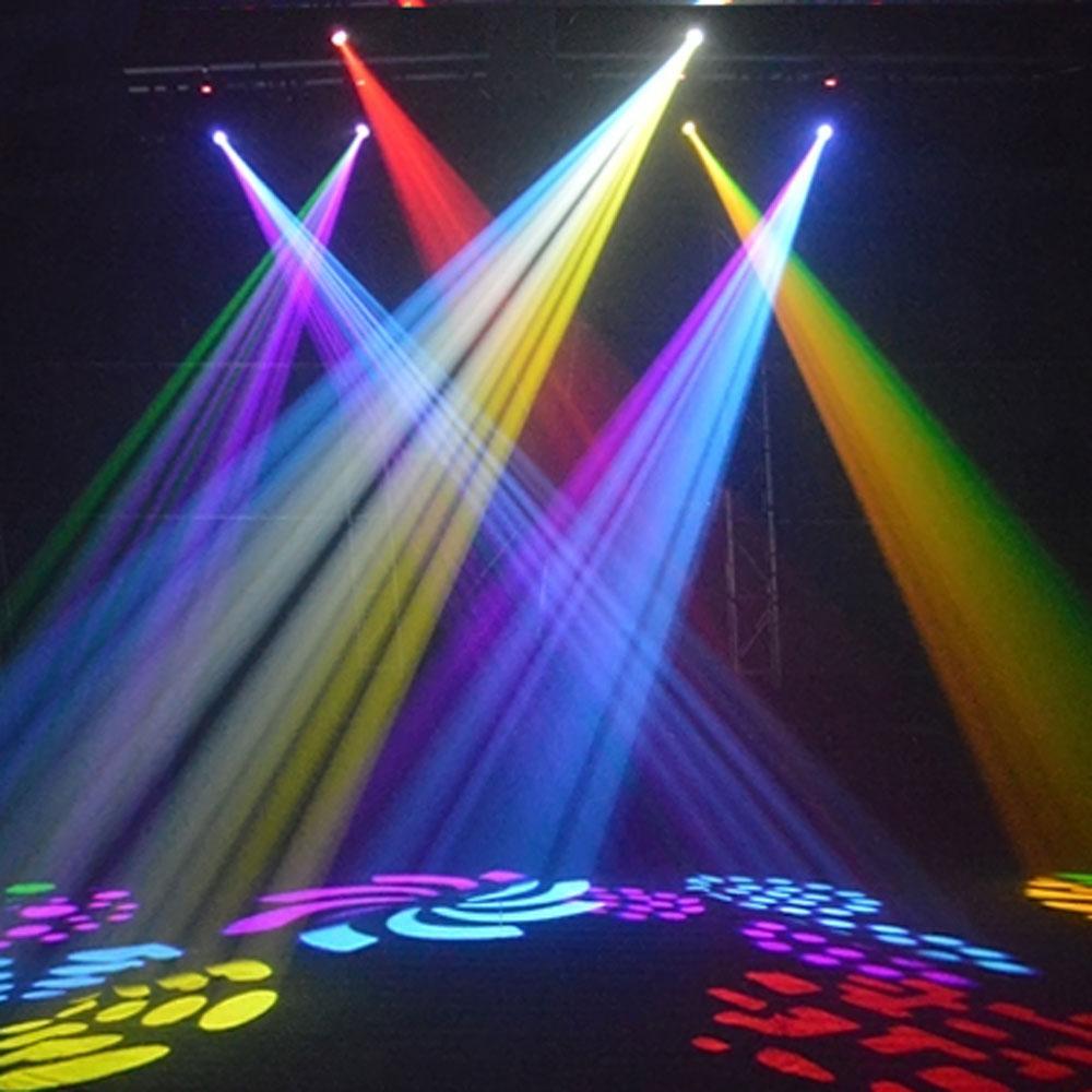 2Pcs 30W LED Moving Head Light Spot Stage Lighting DJ Disco Xmas Club Lamp