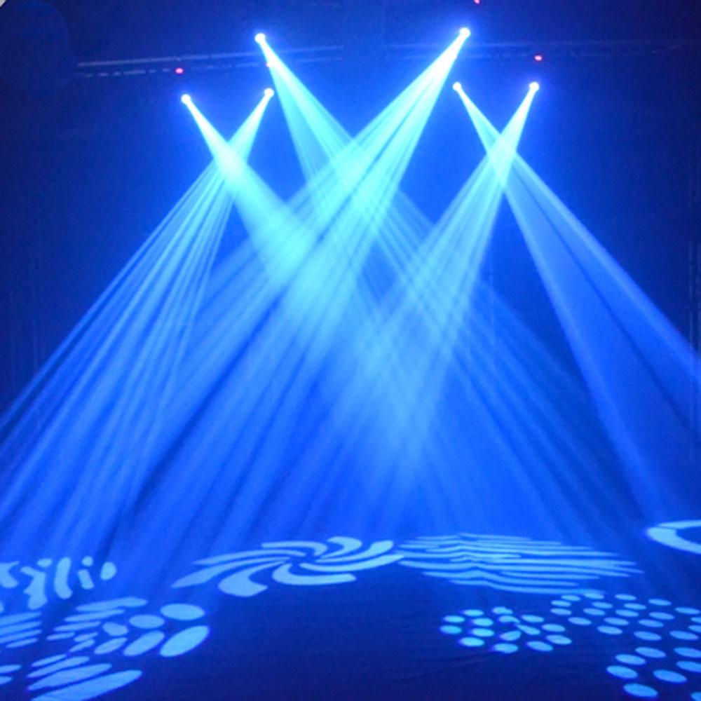 2Pcs 30W LED Moving Head Light LED Spot Stage Lighting DJ