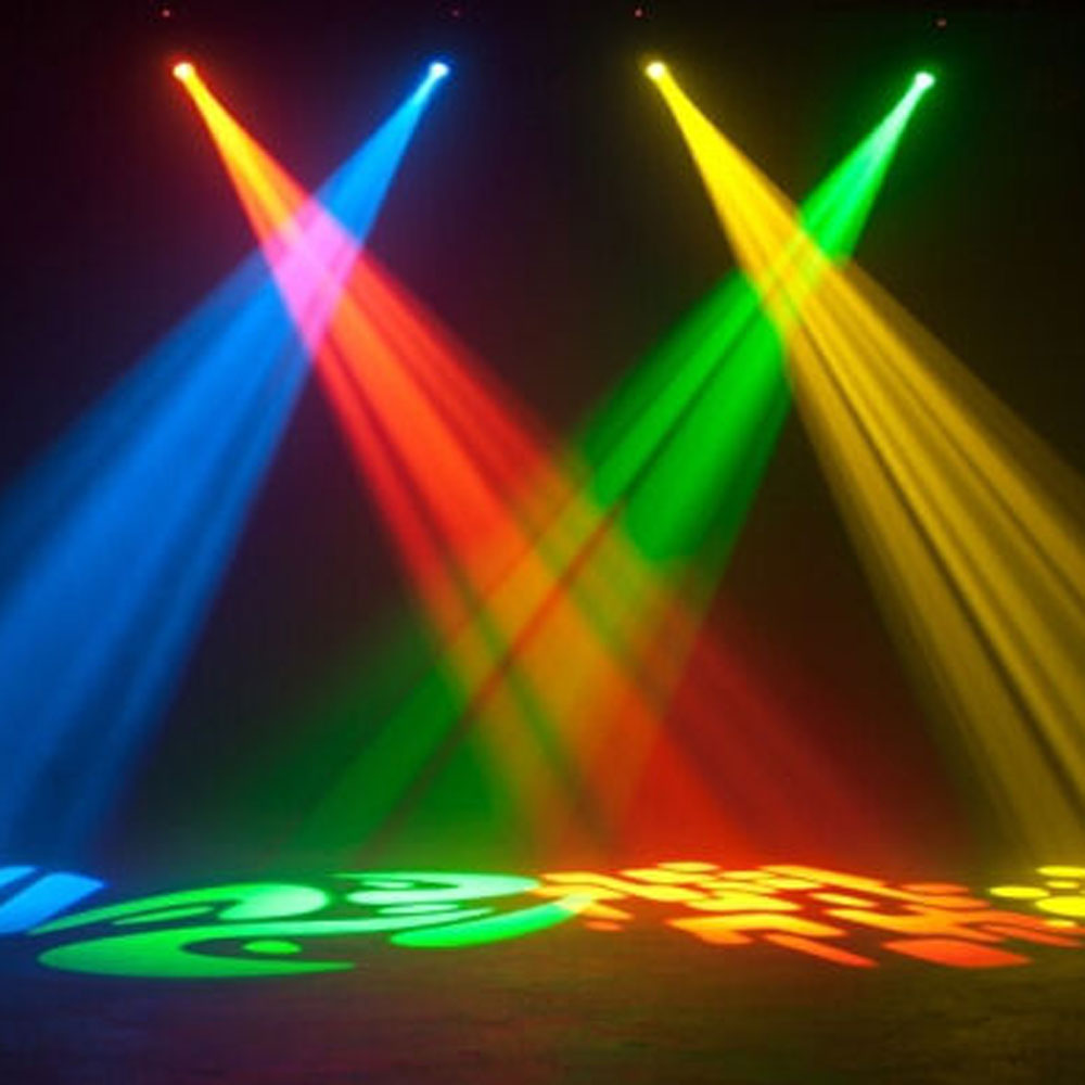 2pcs 30w led moving head light led spot stage lighting dj disco xmas