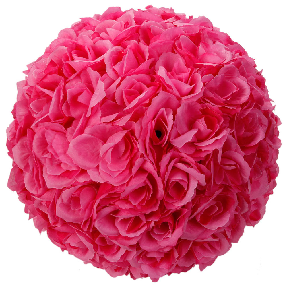 Lot 6 10 Kissing Ball Pomander Flower Pew Wedding Silk Party Rose