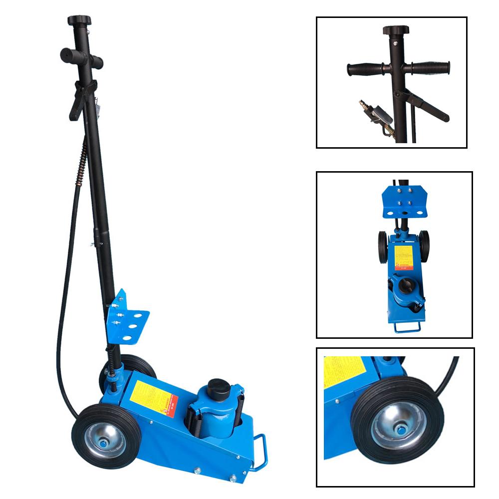 Heavy Duty 22 Ton Air Hydraulic Floor Jack Wheels Lift