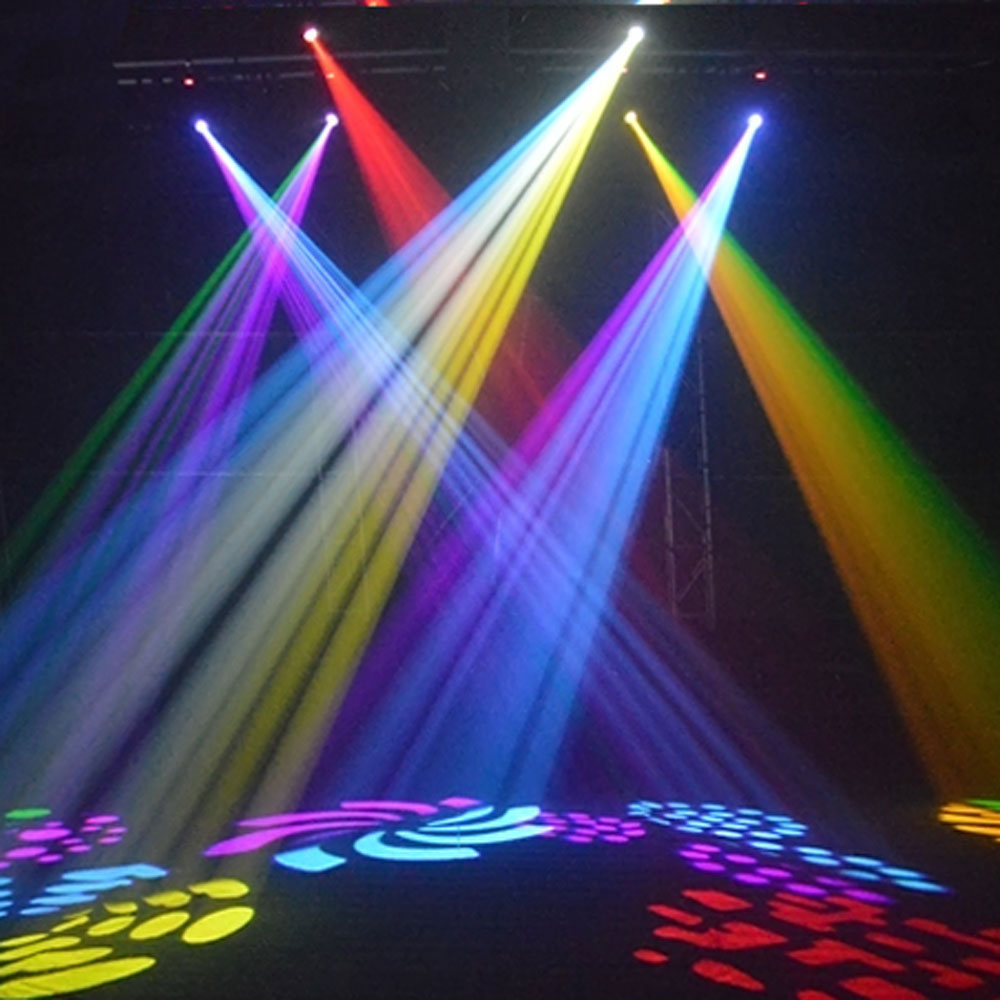 Led Wall Dj Light: 2Pcs 30W LED Moving Head Light LED Spot Stage Lighting DJ
