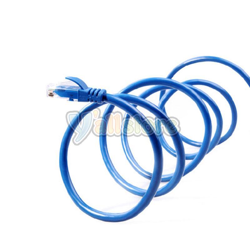 25FT CAT5e 5 Cable Ethernet Lan Network CAT 5 RJ45 Patch Cord ...