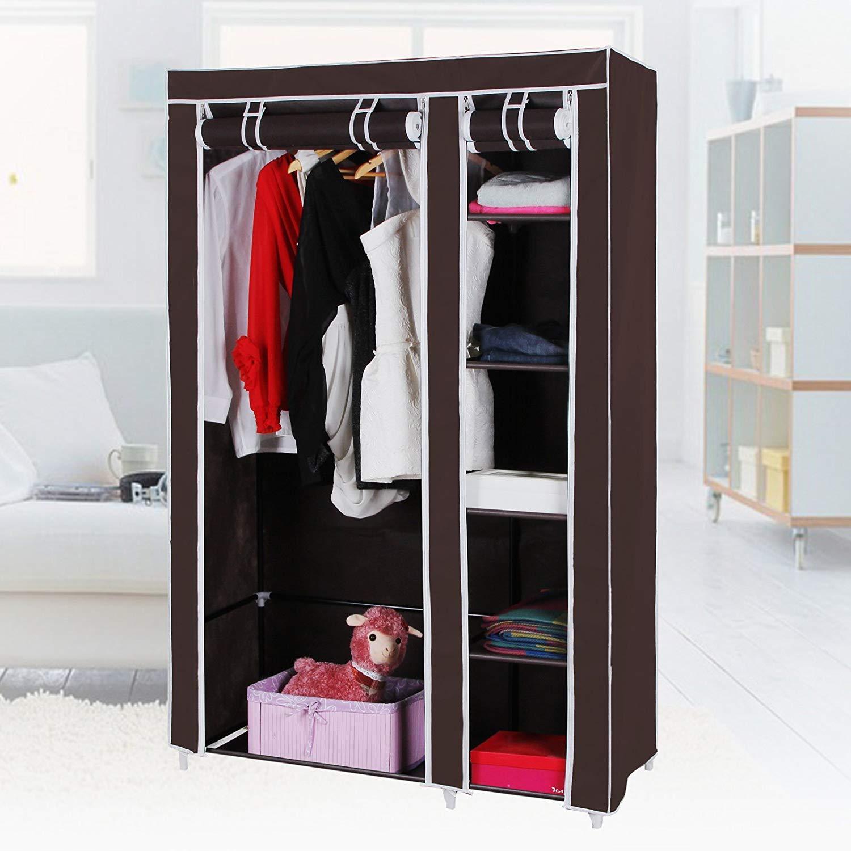 Heavy Duty Portable Closet Storage Organizer Clothes