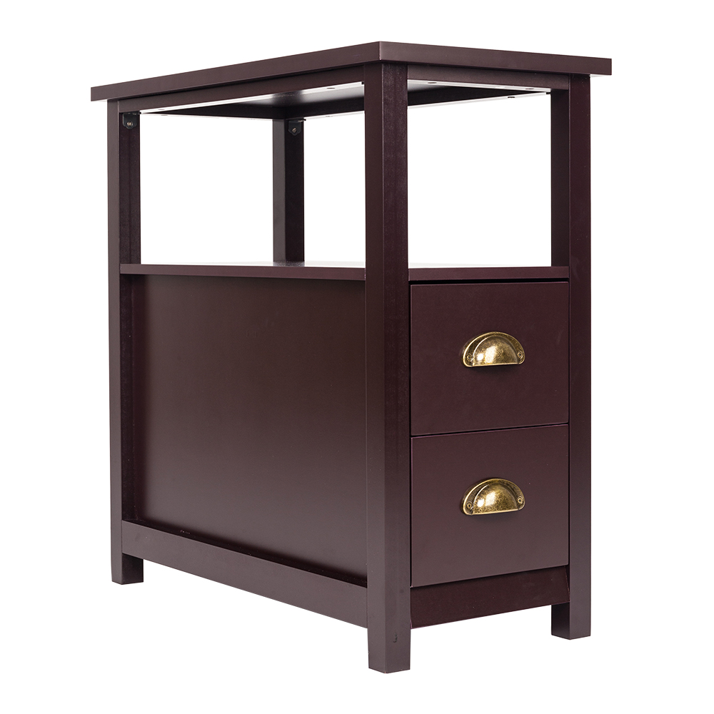 Chair Side End Tables Home Living Room Furniture Drawers