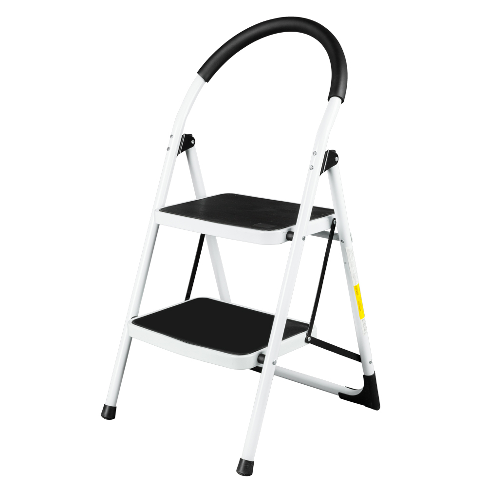 Astonishing Details About 2 Step Ladder Folding Stool Heavy Duty Industrial Lightweight 330Lbs Capacity Pabps2019 Chair Design Images Pabps2019Com