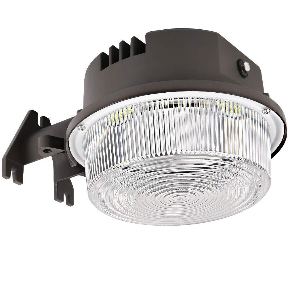 Ring Dusk To Dawn Light: 70W LED Barn Light 9100lm IP65 ETL Dusk To Dawn Outdoor