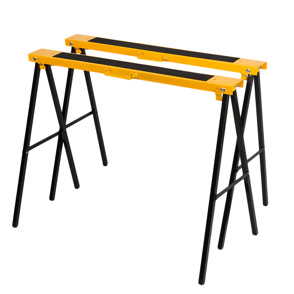 Remarkable Details About 2 Pack 600Lb Heavy Duty Saw Horse Steel Folding Legs Portable Sawhorse Pair Download Free Architecture Designs Scobabritishbridgeorg