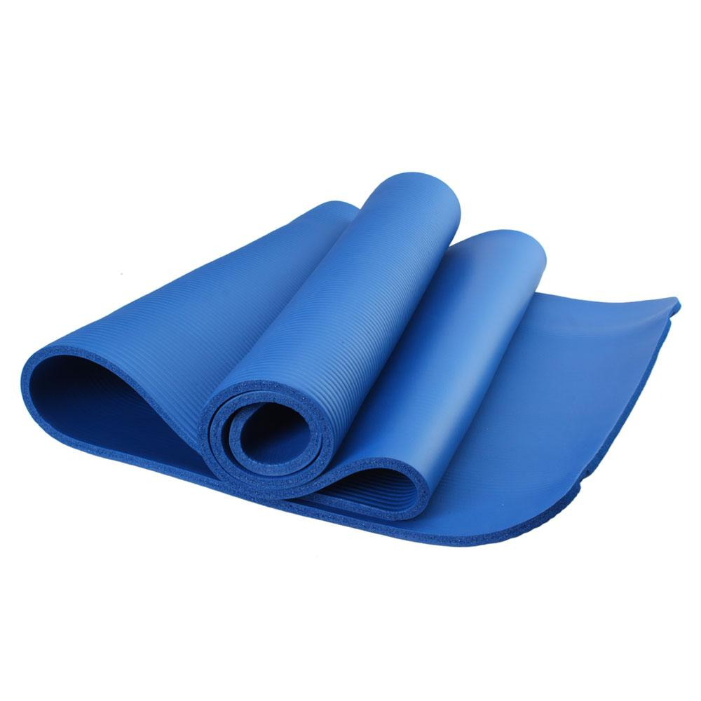NBR 10MM Yoga Mat Extra Thick Exercise Non Slip Washable