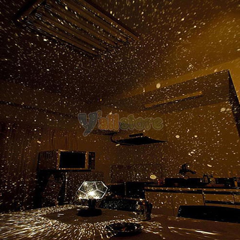 Star map projector lamp - Sky Map Projector Astro Star Astrostar Laser Cosmos Rotating Light Lamp Diy Ebay