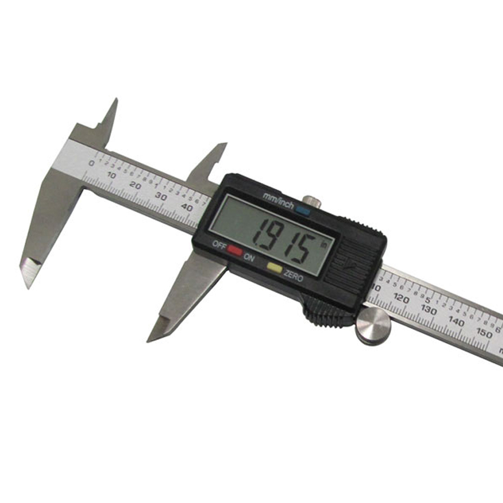 150mm 6inch Digital Electronic Gauge Stainless Steel