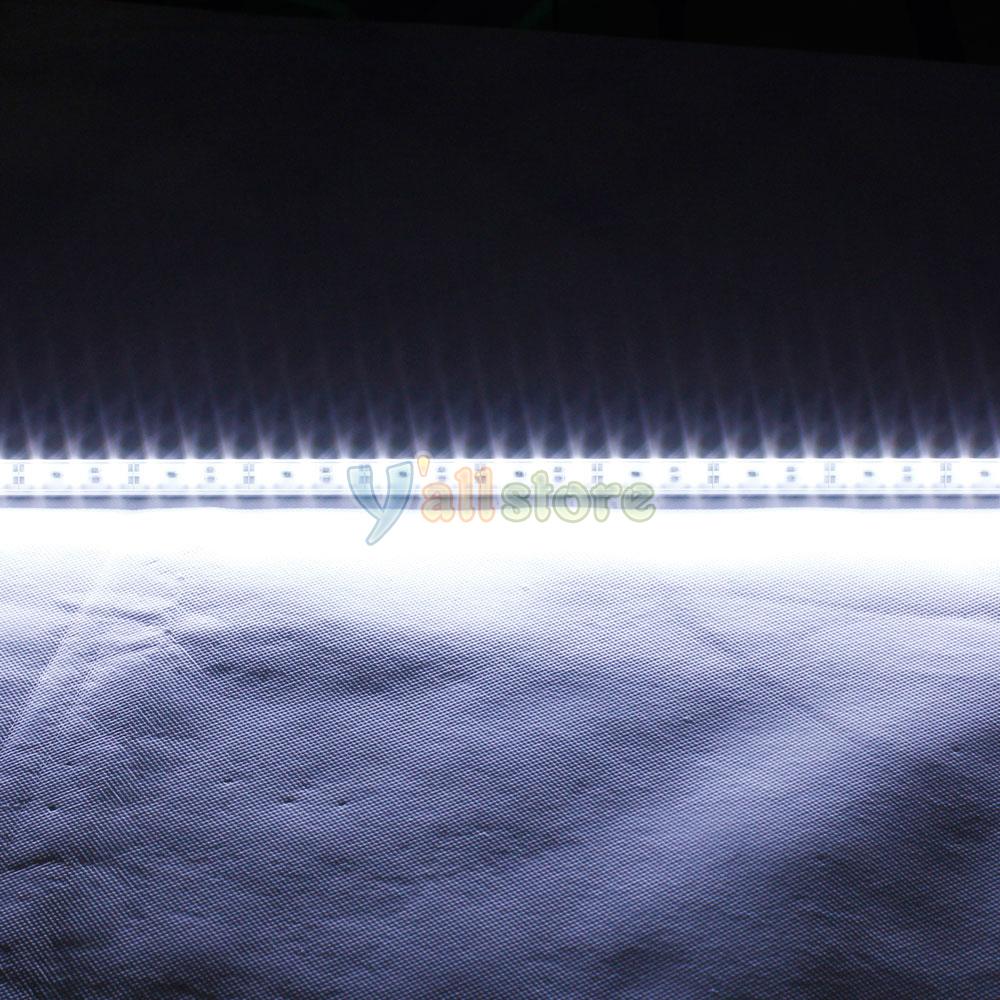 Led Lights White: 15PCS SMD5050 White LED Tube Strip Light Bar 7W 12V 36LED