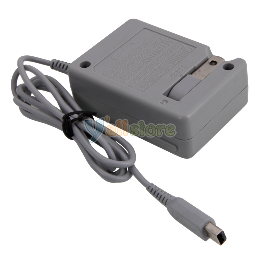 new 20pcs ac power adapter charger for nintendo dsi ndsi 3ds us free shipping. Black Bedroom Furniture Sets. Home Design Ideas